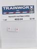Trainworx N 4032-04 Kenworth Mud Flaps (White)