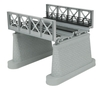 MTH RealTrax O 40-1108 2-Track Girder Bridge, Silver