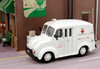 American Heritage Models O 43-504 Divco Delivery Truck, Red Cross Mobile Disaster Unit (1:43)