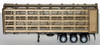 Herpa HO 005480 Stock Trailer Kit with Assembled Chassis