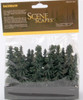 "Bachmann Scene Scapes 32157 2"" to  4"" Spruce Trees (36)"