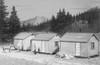 American Model Builders HO 710 Long-Bell Lumber Co. Skid Shack/Cabin Kits (3-Kits)