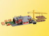 Kibri HO 39816 Sawmill with Interior Kit