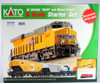 Kato N 1060022 GE ES44AC GEVO and Mixed Freight Starter Set, Canadian Pacific
