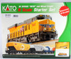Kato N 1060023 GE ES44AC GEVO and Mixed Freight Starter Set, Union Pacific