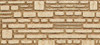 "Heki HO 70012 Foam Wall Material, Horizontal Natural Hewn Gray Block 11.25"" x 5.75"" (2-Pack)"