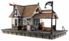 Woodland Scenics O BR5852 Built and Ready The Depot (Lighted)