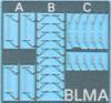 BLMA N 96 Windshield Wipers (3 styles)