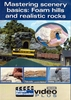 Kalmbach Publishing DVD 15301 Mastering Scenery Basics: Foam Hills and Realistic Rocks