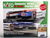 Kato N 1060032 Chicago Metra F40PH Commuter Series Starter Set