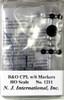 N. J. International HO 1211 B&O CPL Signal with 6 Markers