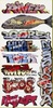 Blair Line N 1256 Graffiti Decals Mega Set #7