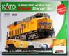 Kato N 1060024 GE ES44AC GEVO and Mixed Freight Starter Set, Burlington Northern Santa Fe