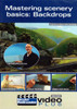 Kalmbach Publishing DVD 15309 Mastering Scenery Basics: Backdrops