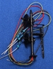 N.J. International HO 1303 Black Signal Mast with 2 Target LED Lights