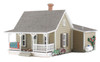 Woodland Scenics N BR4926 Built and Ready Granny's House (Lighted)