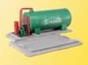 Kibri HO 39932 Schwarz Concrete Works Fuel Tank Kit