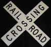 "Microscale 10200 Railroad Crossing Crossbuck 24"" x 4-1/2"" Heavy Gage Aluminum (Bolt Together Style)"