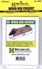 "Blair Line HO 2809 Wood Box Culvert Kit, Single Track 1/2"" Tall"