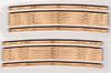 "Blair Line HO 112 Laser-Cut 25""-27"" Radius Curved Wood Grade Crossing (2 sets)"