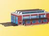 Kibri N 37806 Locomotive Shed Kit