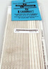 American Model Builders N 511 Hexagonal Shingle Strips