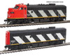 Walthers Proto HO 920-40909 EMD F7 A-B Set, Canadian National #9159/9195 (Tsunami Sound and DCC Equipped)