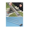 Micro-Mark O 83032 O Gauge Track Cleaner on a Metal Stick