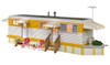 Woodland Scenics O BR5863 Built and Ready Sunny Days Trailer (Lighted)