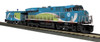 MTH RailKing O 30-20524-1 ES44AC Imperial Diesel and Caboose Set, GE Demonstrator #2015 (Proto Sound 3)