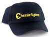Nissin Black Embroidered Adjustable Hat, Chessie System