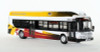 Iconic Replicas HO 87-0132 New Flyer Xcelsior CNG Transit Bus with Bike Rack, MTA Baltimore