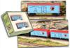 Full Throttle Z FTB9017-2 34' Woodside ICE Reefer Set #2, Northern Pacific (2-Pack)
