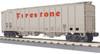 MTH RailKing O 30-75618 Airslide Hopper Car, Firestone #48383