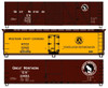 Accurail HO 8110 40' Wood Box Car and Reefer Kits, Great Northern (3-Pack)