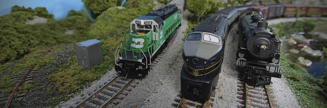 Model Trains: Locomotives, Freight Cars, & More | ModelTrainStuff