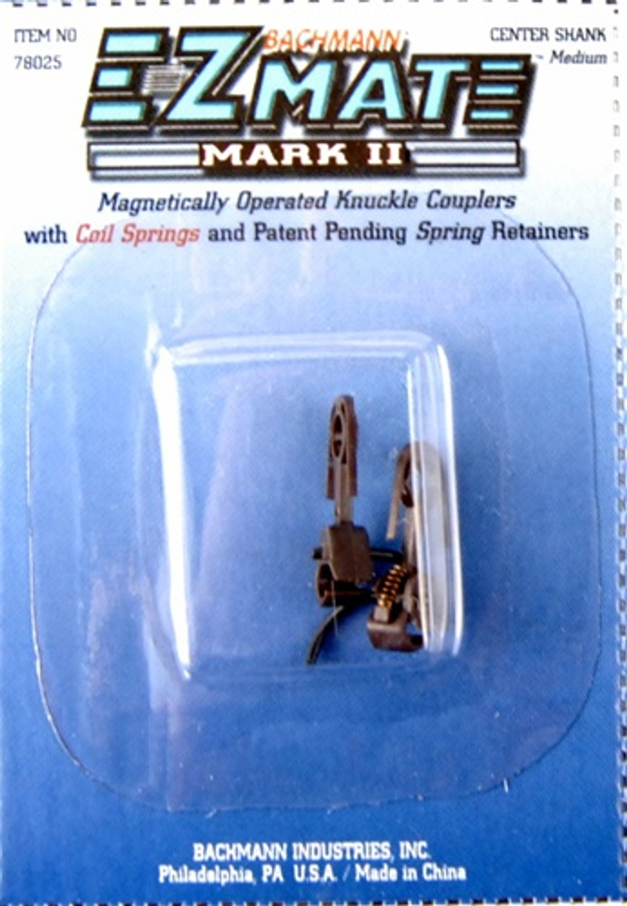 BACHMANN HO SCALE E-Z MATE MARK III MAGNETIC KNUCKLE COUPLERS # 78025