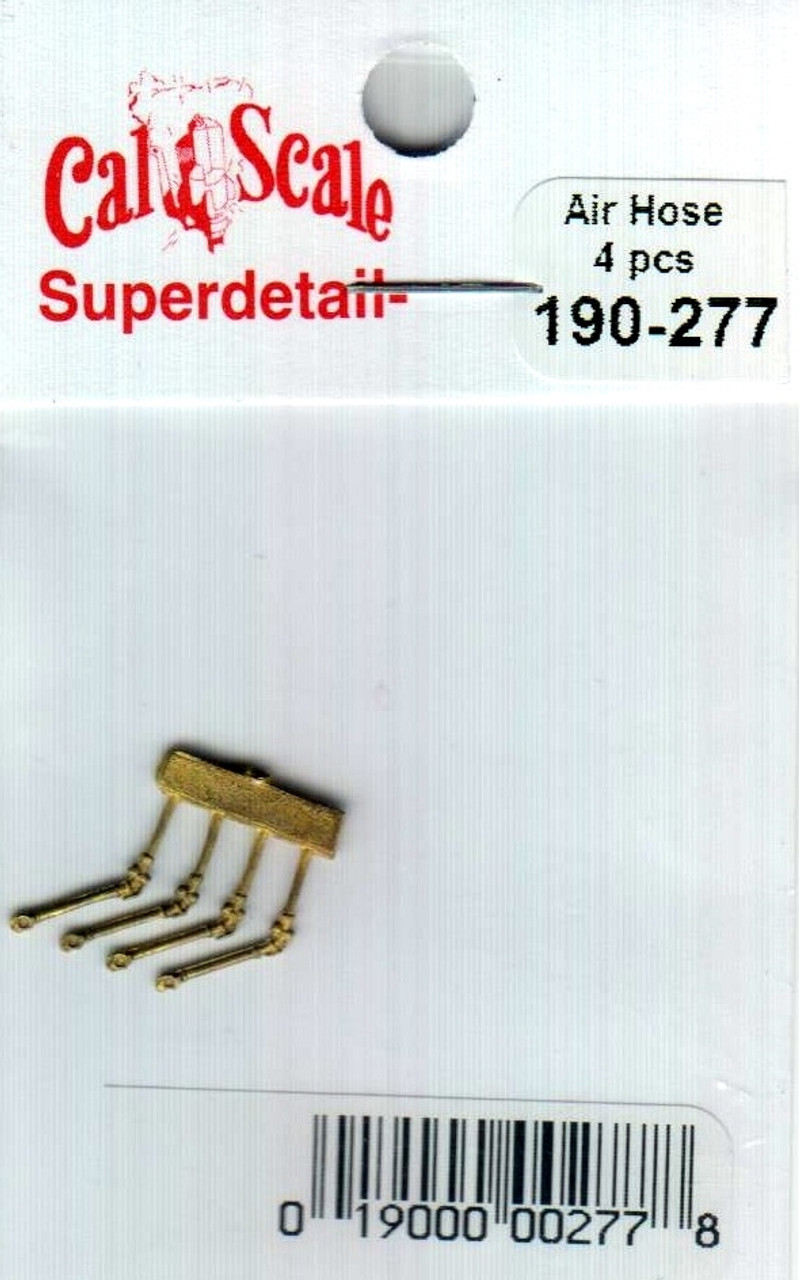 Cal-Scale HO #277 Air Hoses Brass Standard Type