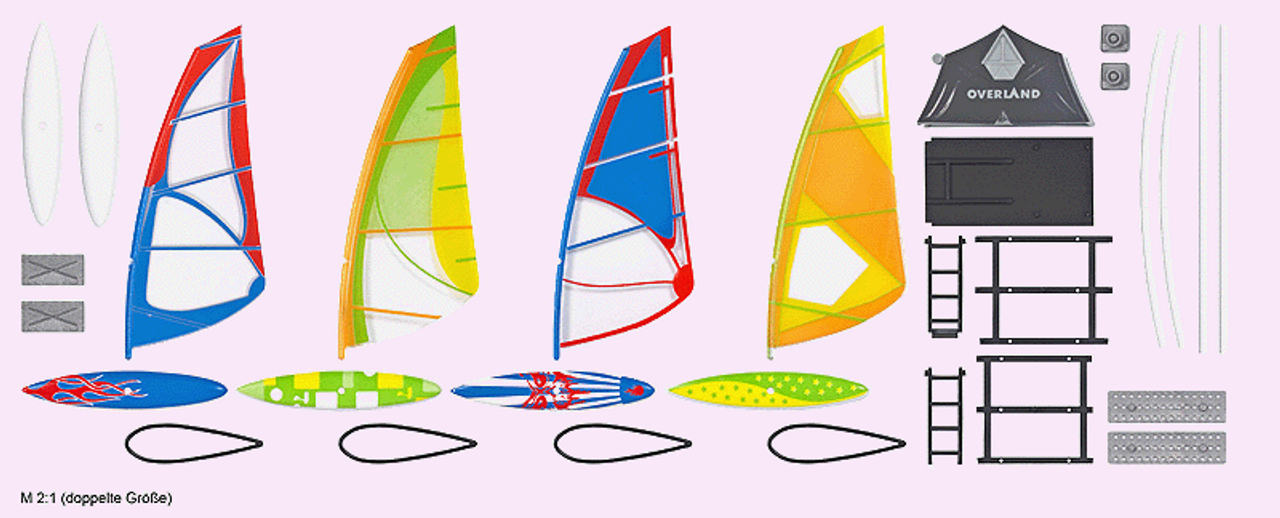 WINDSURFER SET HO Busch B 1156