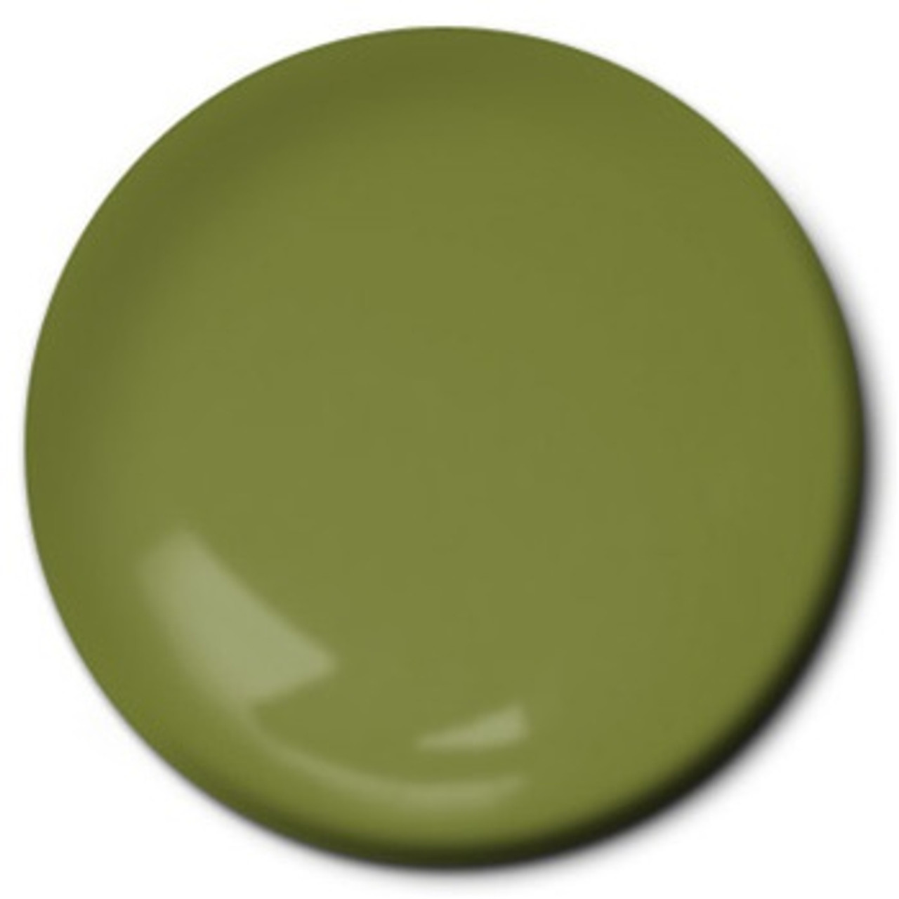 Testors 1164 Enamel Paint Flat Green, 1/4 oz