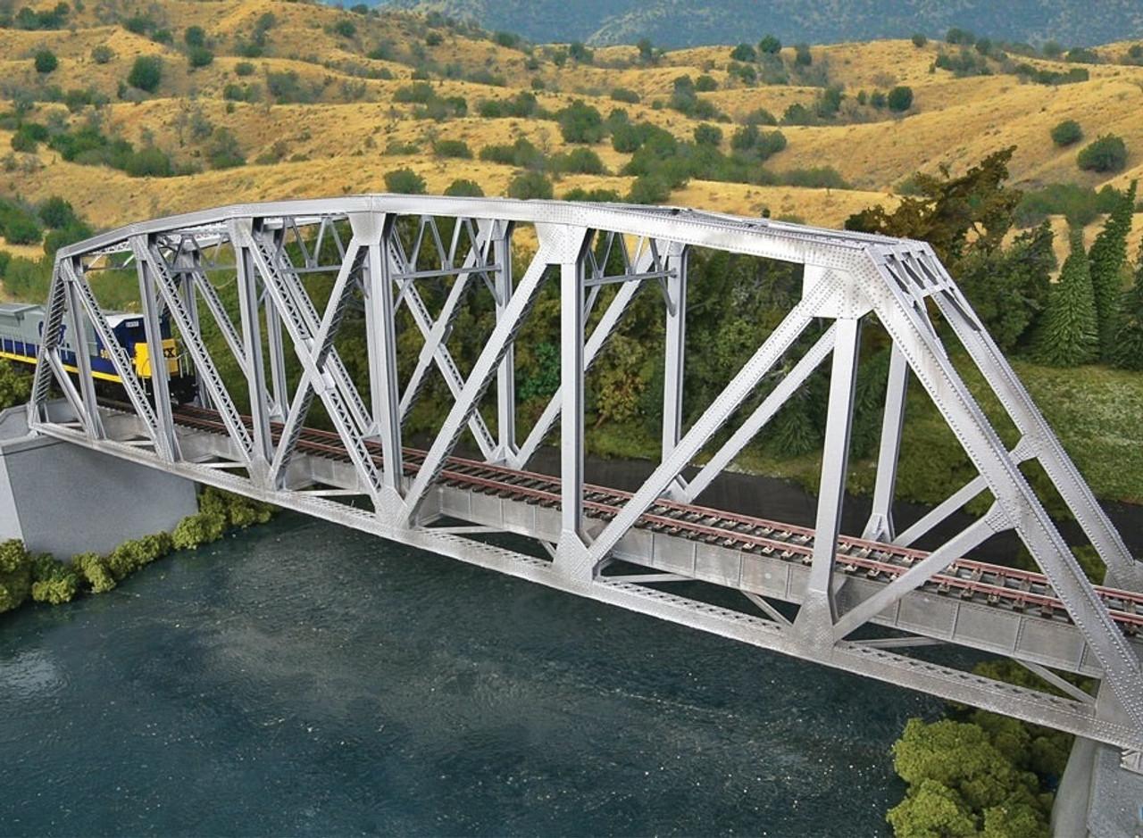 walthers cornerstone ho 933 4521 arched pratt truss railroad bridge