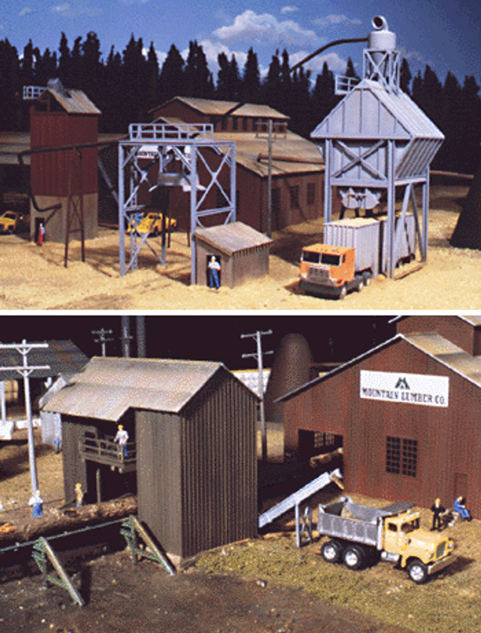 Sawmill Building Kit Parts & Accessories Buildings, Tunnels