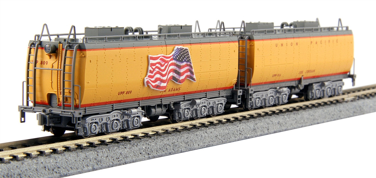 Kato N 106085 Water Tender 2-Pack, Union Pacific