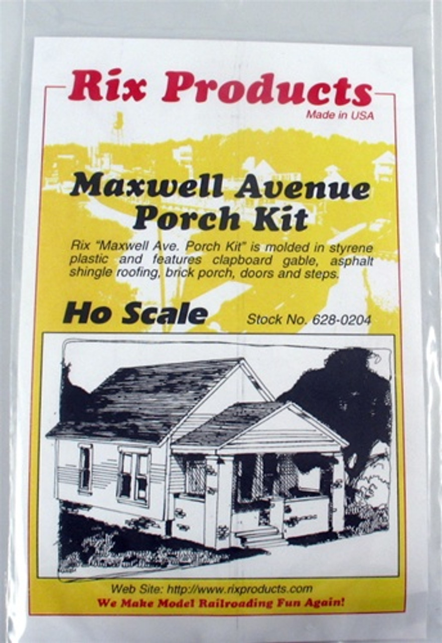 Rix Products Ho 628 0204 Maxwell Avenue Porch Kit