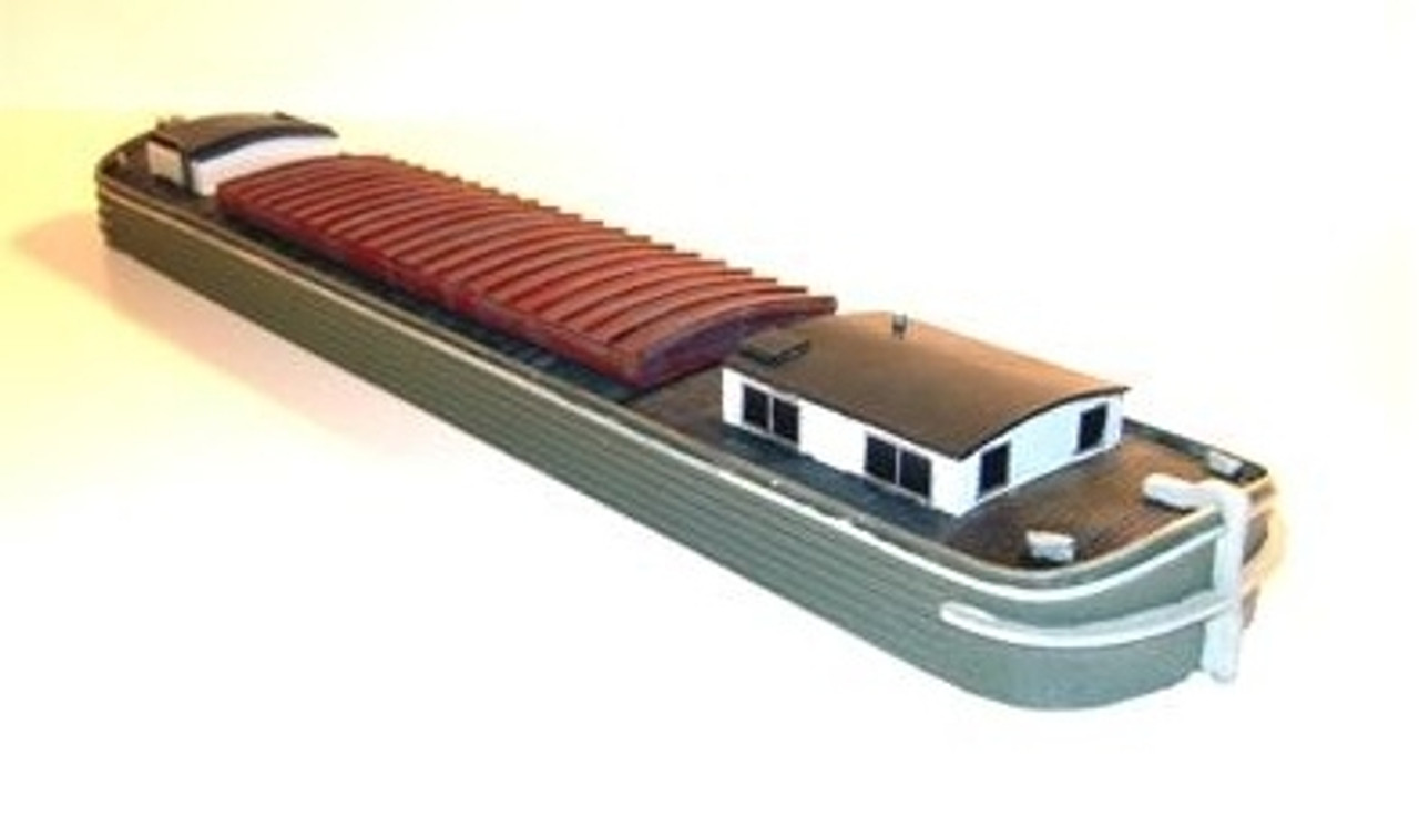 N Scale Architect HO 20073 Erie Canal Barge Kit