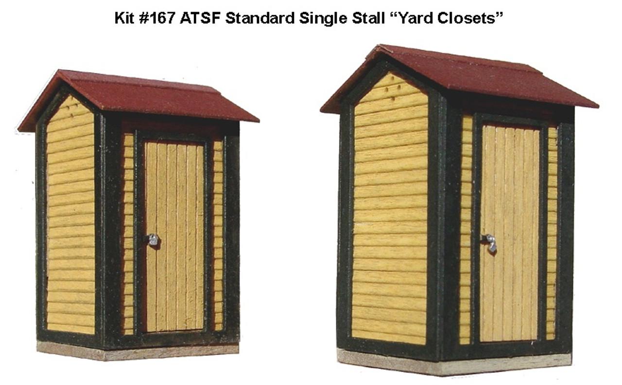 American Model Builders HO 167 ATSF Standard Single-Stall