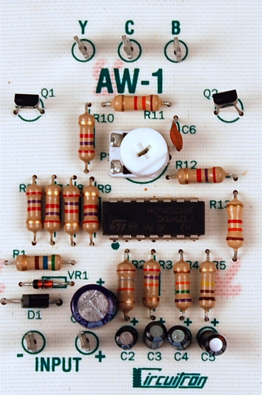 Circuitron 800-5841 AW-1 Arc Welder Circuit | ModelTrainStuff.com