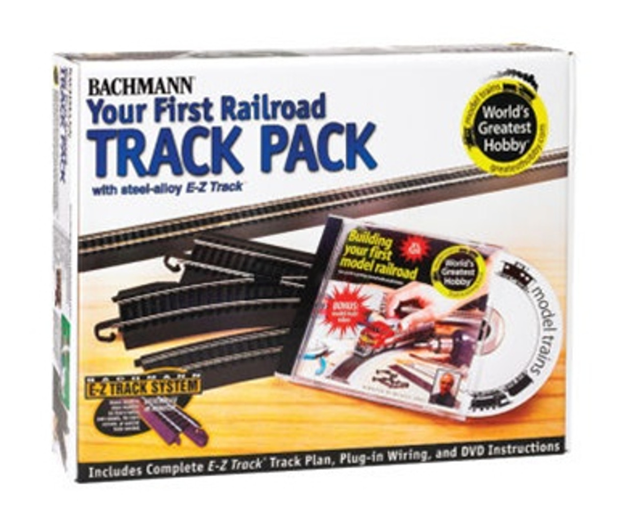 Bachmann HO 44497 Your First Railroad Track Pack (Steel)