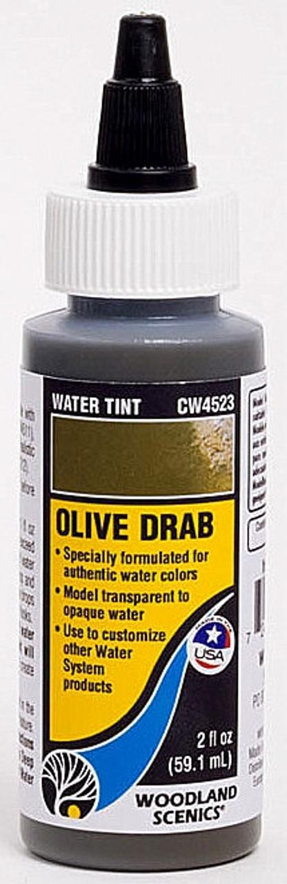 CW4523 Woodland Scenics Water Tint Olive Drab