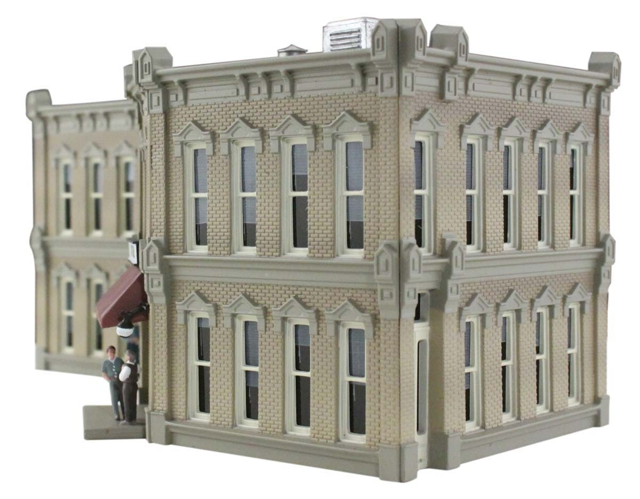 Woodland Scenics Municipal Building N Railroad Train Building  BR4930